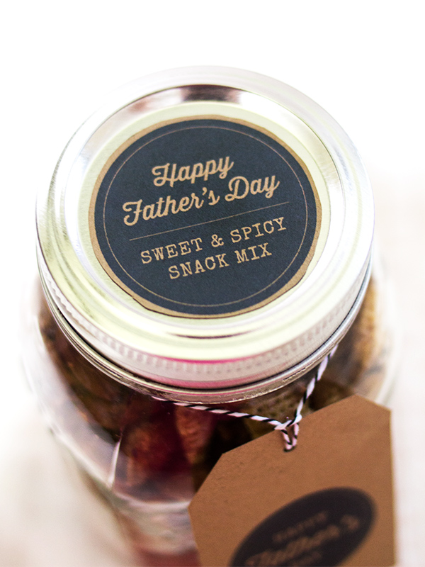 Make dad a homemade gift for Father's Day and seal it with one of these free printable labels.