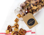 Snack Mix Recipe and Father's Day Gift Tags