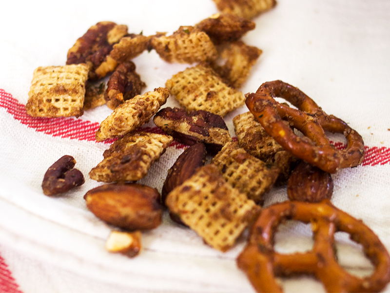 Try this sweet and savory snack mix recipe. It's easy to make and so delicious!