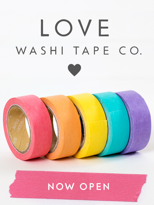 Love Washi Tape Co. | http://lovewashitape.com