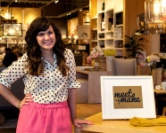 Meet + Make Party at West Elm Orlando