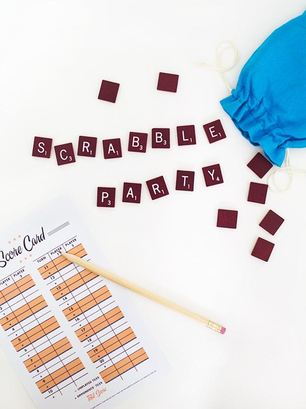 Printable Scrabble Score Sheet | Sarah Hearts