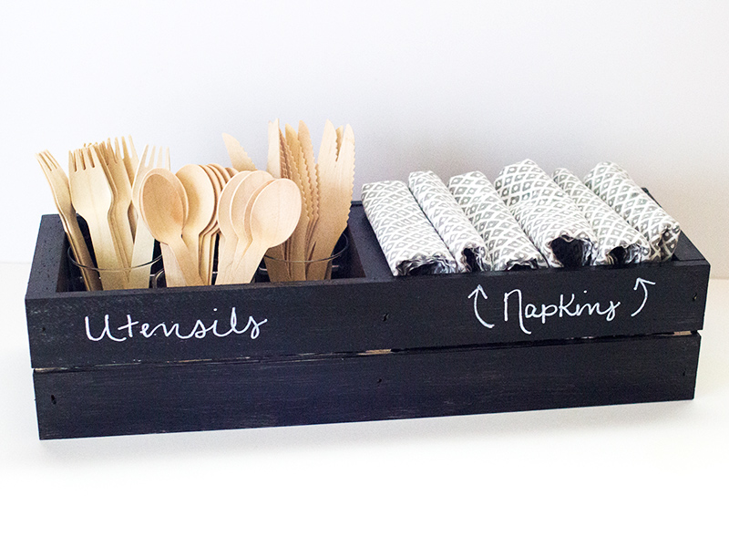 Chalkboard Crate 3 Ways | Sarah Hearts