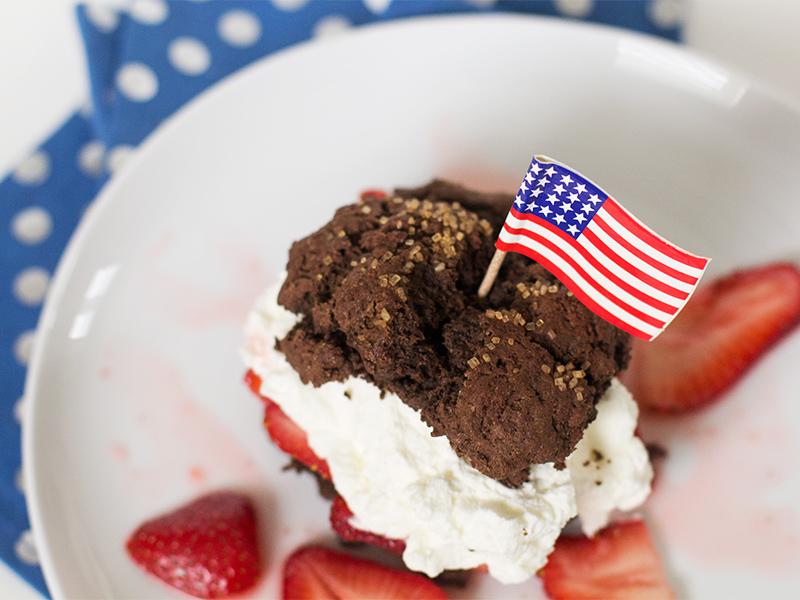 Chocolate Strawberry Shortcake Recipe — Dishmaps