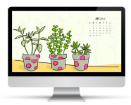July 2013 Calendar Wallpaper