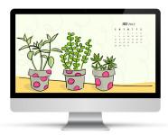 July 2013 Calendar Wallpaper