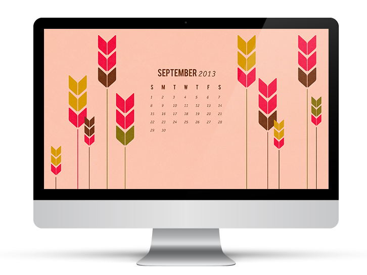 September 2013 Free Calendar Wallpaper | Sarah Hearts