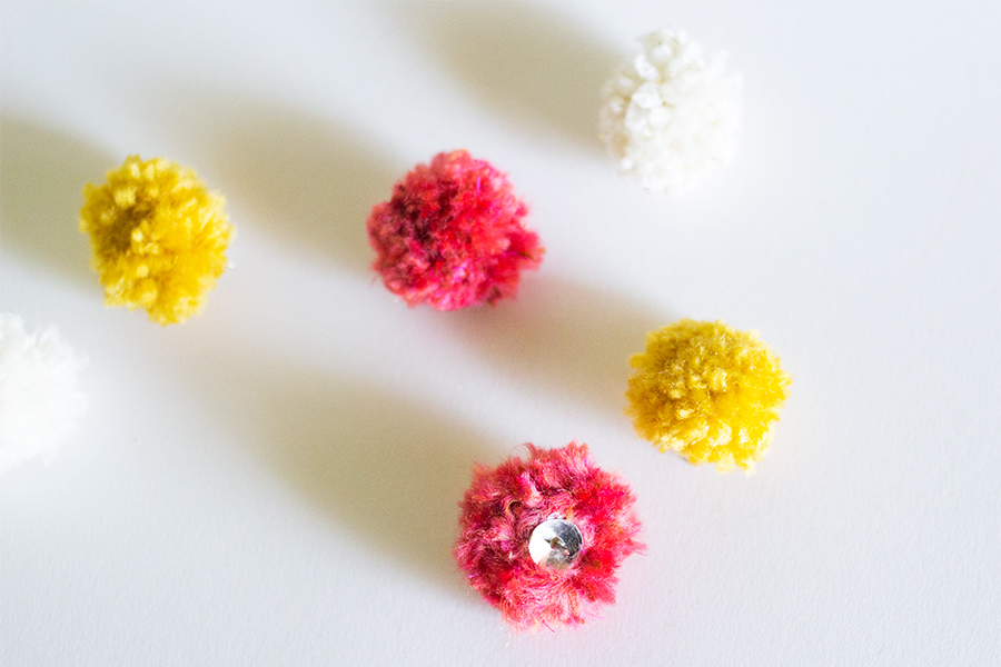 Anthropologie Inspired Pom Pom Push Pins | Sarah Hearts