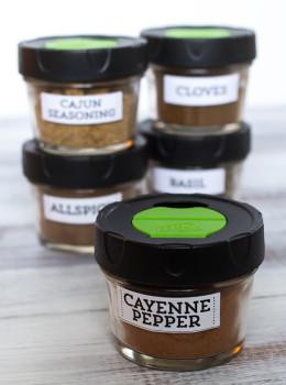 Printable Spice Jar Labels | Sarah Hearts