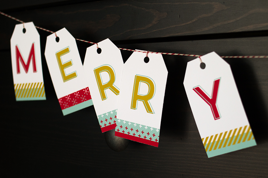 Printable Holiday Banner