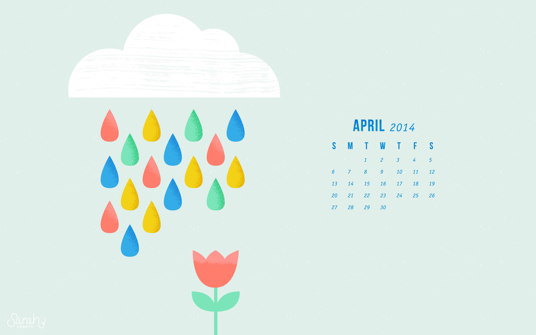 Calendar Wallpaper Quotes : April calendar wallpapers sarah hearts