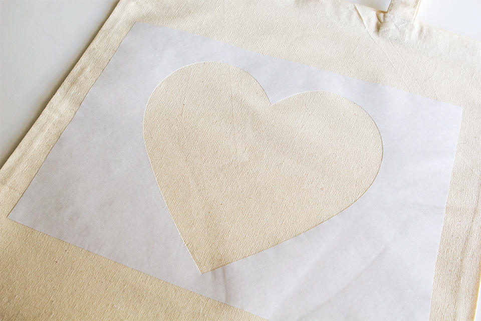 Use freezer paper to create a stencil that stays put.