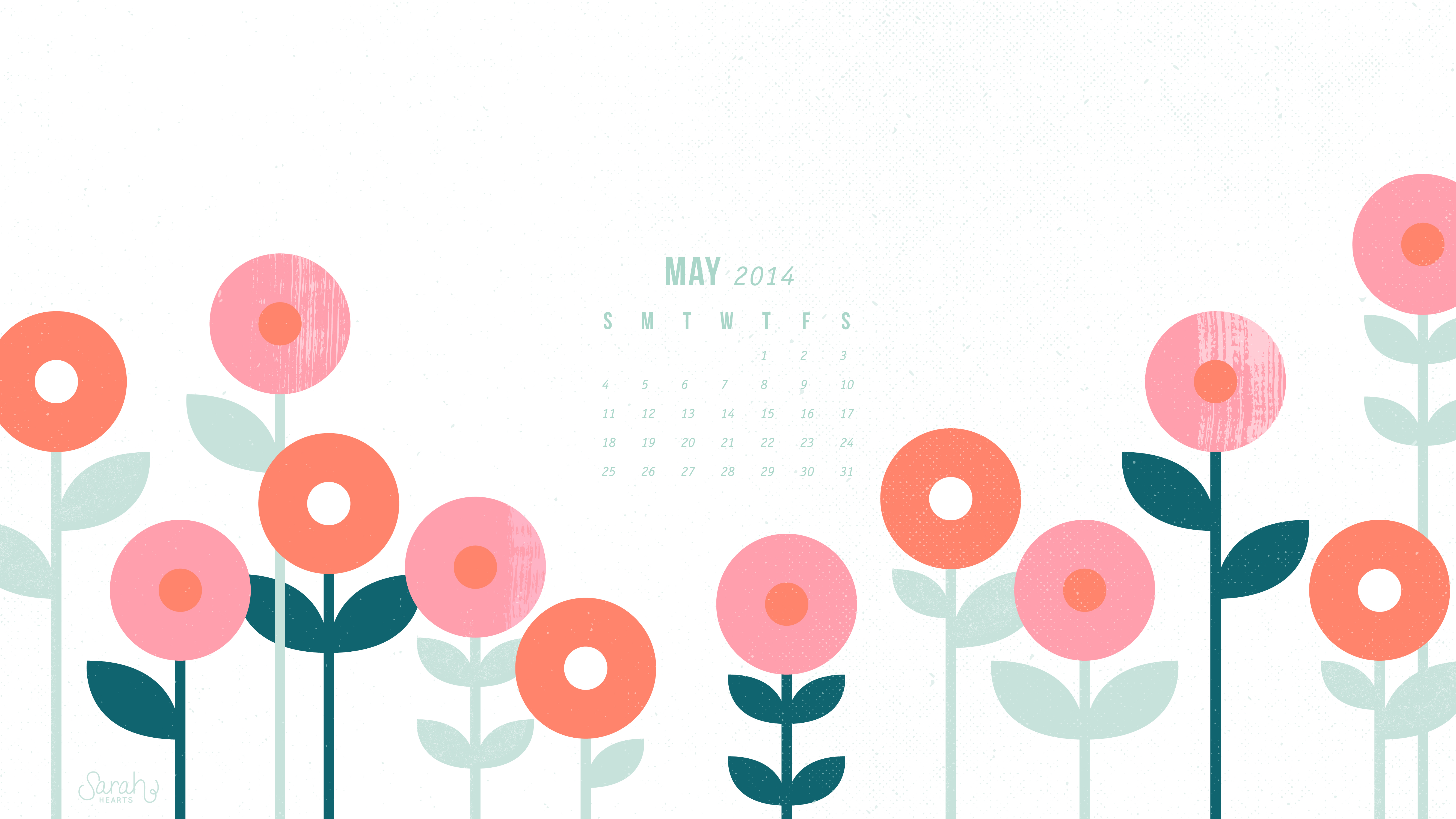 Calendar Wallpaper May : May calendar wallpapers sarah hearts