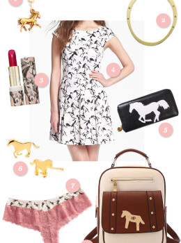 Crazy about horses? Then you're going to love these equestrian inspired pieces!