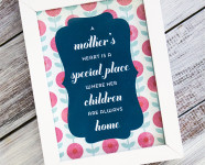 Printable Mother's Day Art