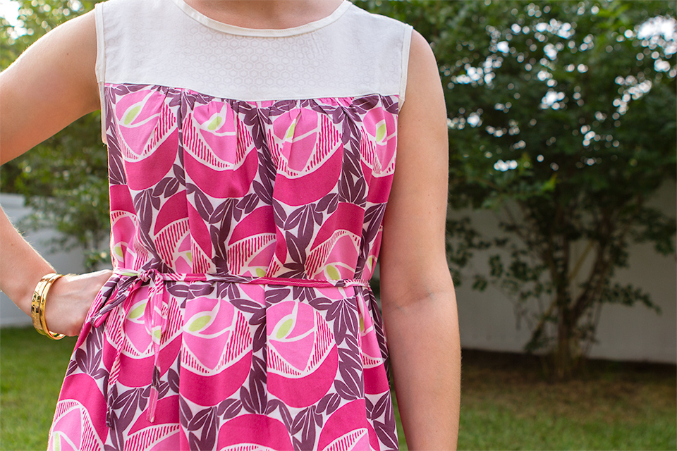 Create your new favorite dress with less than two yards of fabric. Perfect pattern for beginners!