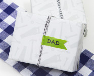Father's Day Tool Gift Wrap