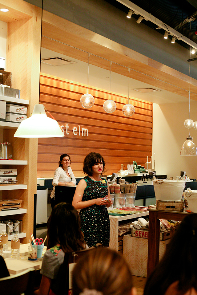 Join Sarah Hearts at the next Meet + Make at West Elm Orlando. It's a night of crafting, creating, snacks and sips.