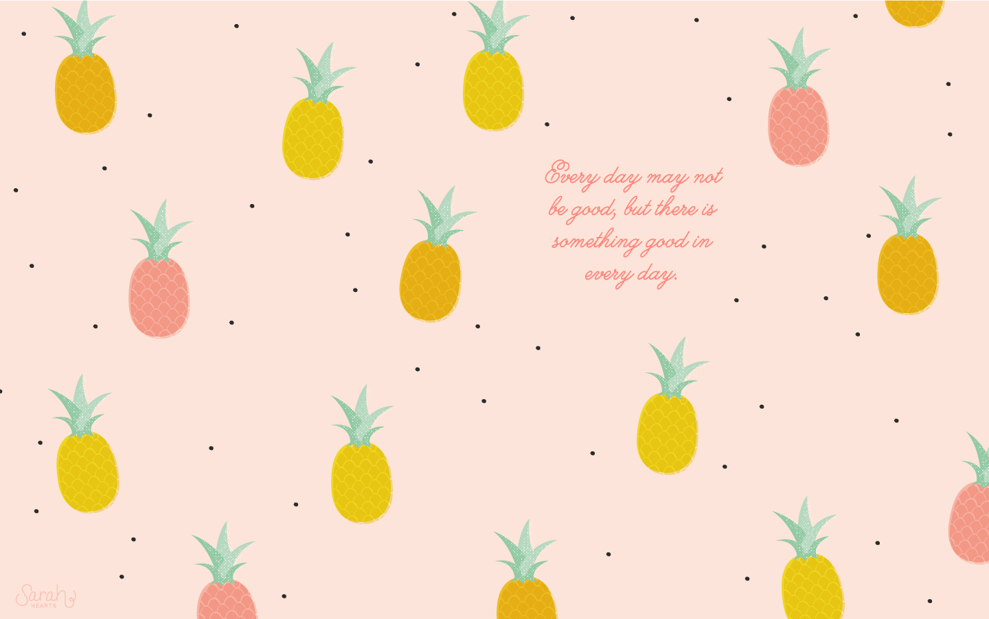 Pineapple background on quotes quotesgram for Home wallpaper quotes