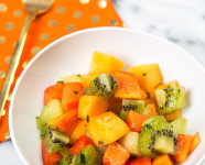 Citrus Mint Tropical Fruit Salad