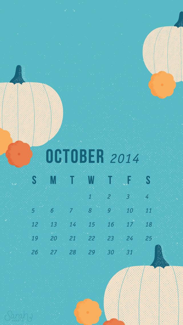 Calendar Design Desktop : October calendar wallpapers sarah hearts