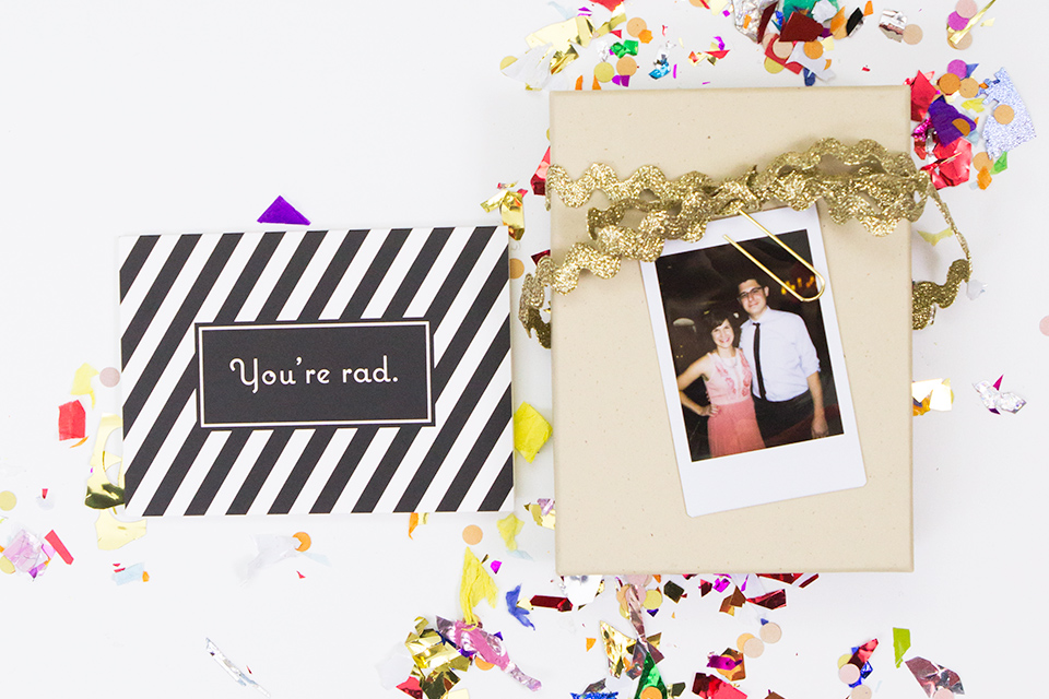 Thank you notes aren't just for holidays. Make a set of fun patterned notecards to surprise your friends with!