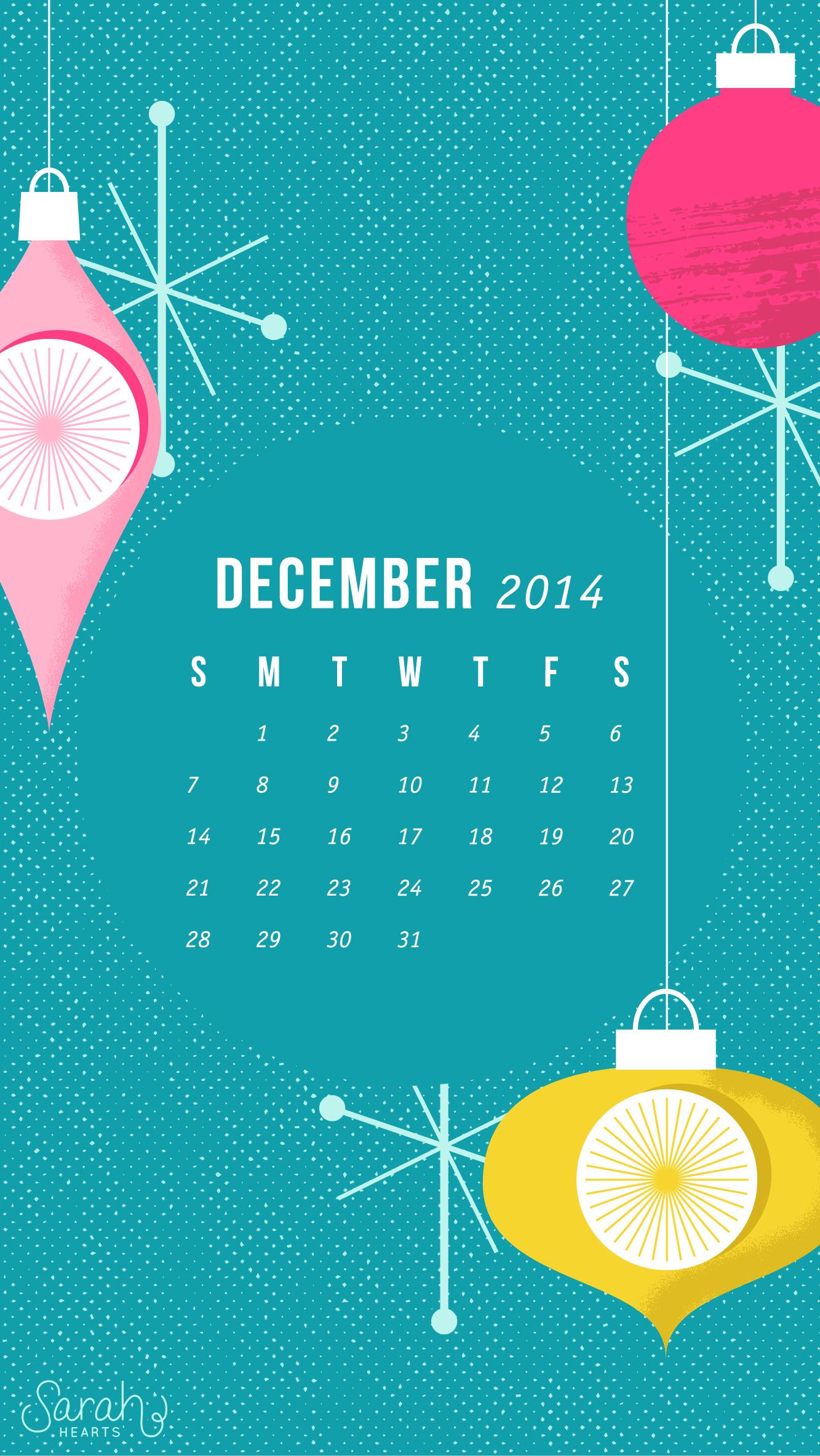 december 2014 calendar wallpaper sarah hearts