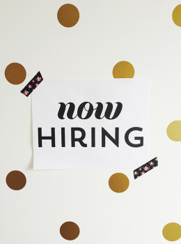 Sarah Hearts is hiring an assistant! Click through for job details and see if you may be a good fit.