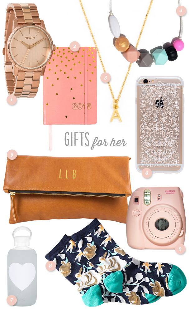 Holiday Gift Ideas for Her - Sarah Hearts