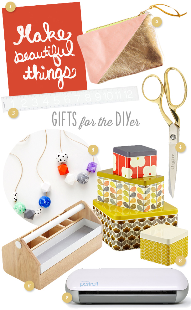 Great gift ideas for the crafty person in your life! Perfect gifts for those who love to make things. Click through for links to items.