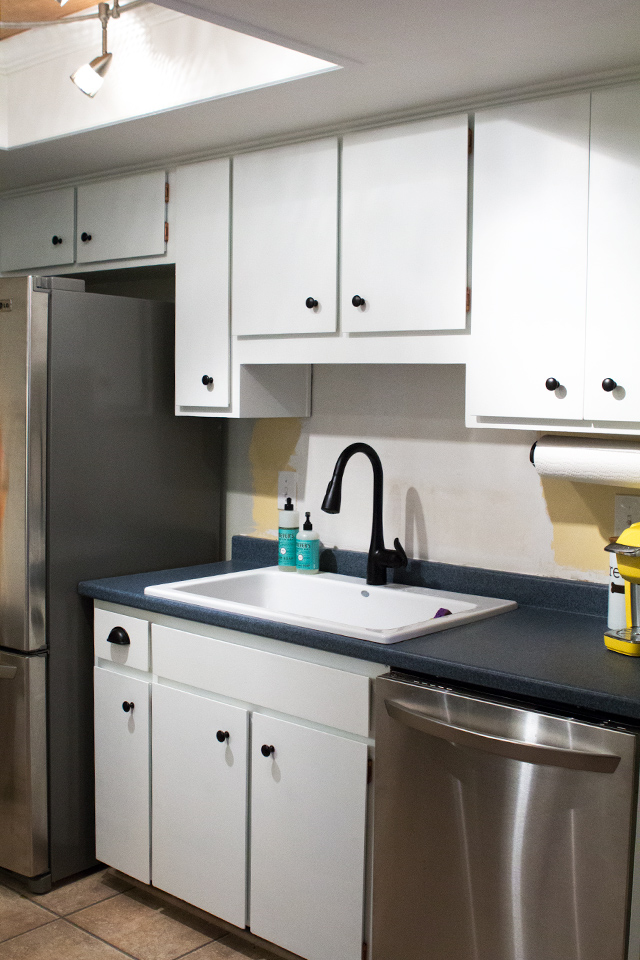 Learn the tips and tricks of painting kitchen cabinets the right way!