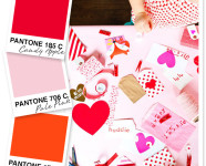 Red, Pink and Orange Color Palette
