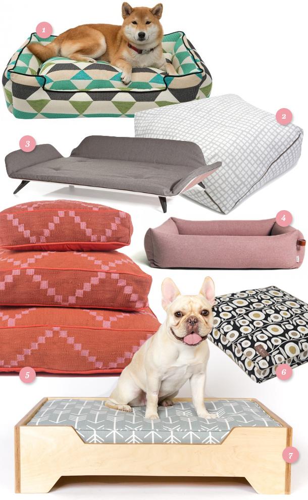 Modern Dog Beds Sarah Hearts