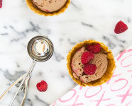 Chocolate Raspberry Ice Cream Recipe