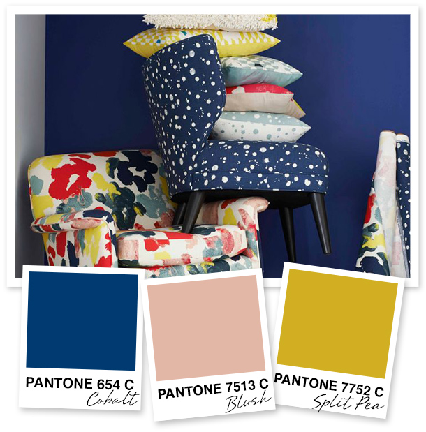 Loving the color palette of the new Kate Spade Saturday collection for West Elm.