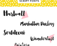 Best Handwritten Script Fonts