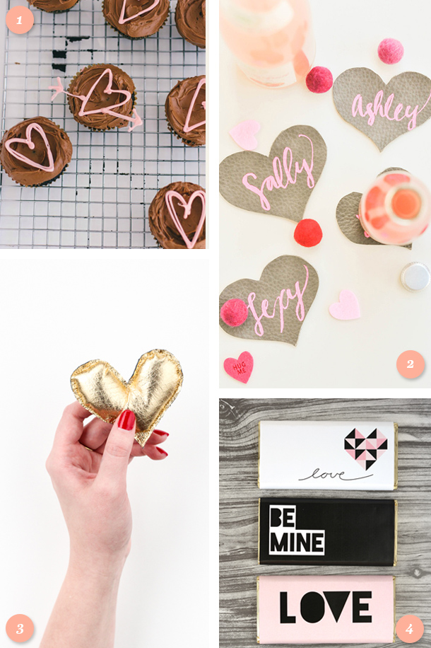 Need a last minute gift for your Valentine? Try one of these simple DIY projects!