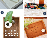 5 Ways to DIY a Wooden Tray