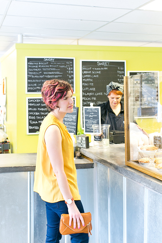 Sarah shares her favorite breakfast spot in Orlando — Se7enbites, a sweet and savory bakeshop owned by Chef Trina.