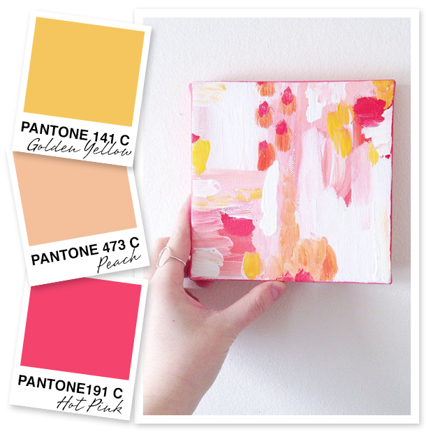 This bright splash of pink is perfect for the start of the summer season. These cheery hues would make any outfit or crafty project come to life.