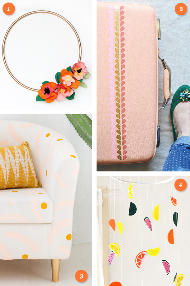 Get inspired to make something this weekend with one of these fun DIY projects. Click through for links to each tutorial.