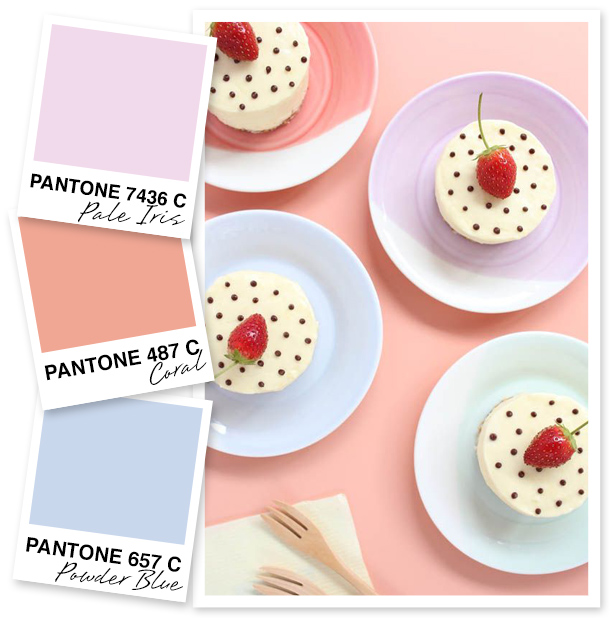 Tea party anyone? These pretty pastel shades are a must for your next girls' day in!