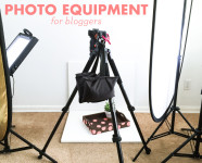 Photography and Lighting Equipment for Bloggers