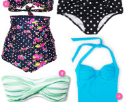 Retro Inspired Swimsuits