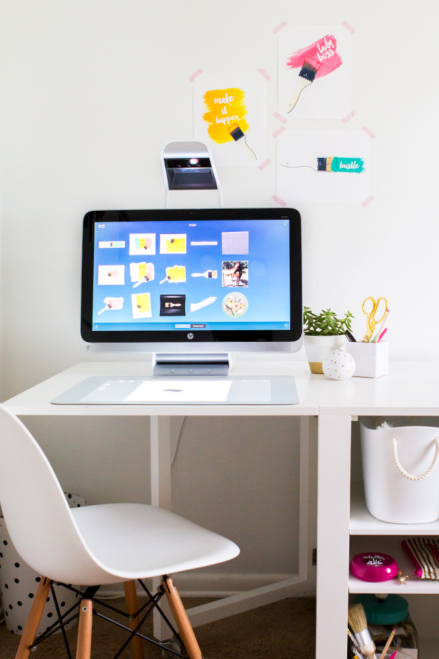 Bring your ideas to life with the Sprout by HP. It's a PC with a built-in 3D scanner. Perfect for capturing inspiration in an instant!