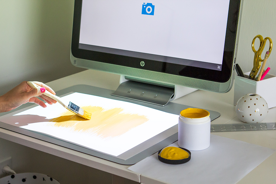 The Sprout allows you to combine digital and analog mediums in a matter of seconds.