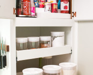 Small Pantry Organization