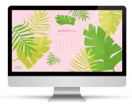 August 2015 Calendar Wallpaper