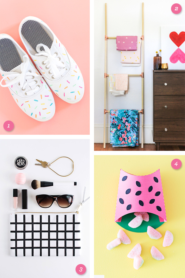 Add some color to your weekend with one of these fun, summery DIY projects! Click through for links to each one.