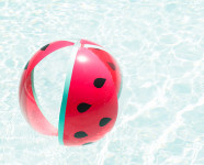 DIY Watermelon Beach Ball